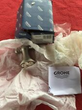NEW IN BOX GROHE GENEVA ROBE HOOK 40155 ENO BRUSHED NICKEL