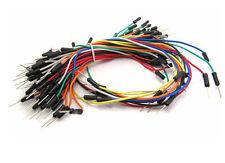 65 Stück Patchkabel / Jumper Wires für Breadboard, Steckbrett