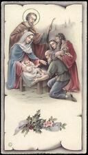 """santino-holy card""""""""ediz. NB serie P  n.2576 NATIVITA'"""