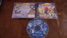Sonic Shuffle Sega Dreamcast Video Game Complete