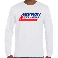 Skyway Tuff Wheels T-Shirt Mens Retro Bmx Cycling Bandit Bike Mongoose Mtb