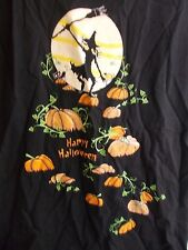 Halloween t-shirt small 4-6 witches moon pumpkins costume