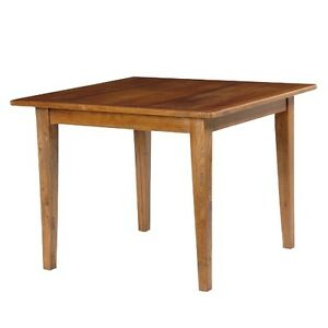 Coach House Carmargue Elm Dining Table / Wooden Table /  Square Dining Table