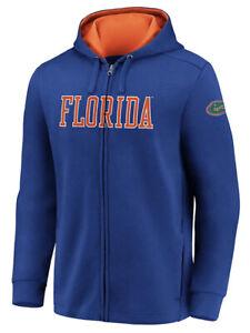 Fanatics Mens Florida Gators Football Team Block Full Zip Hoodie Jacket Medium M