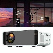 12000 Lumens 1080P Full HD LED VIDEO PROJECTOR AV/VGA/USB/SD/HDMI/TV Input
