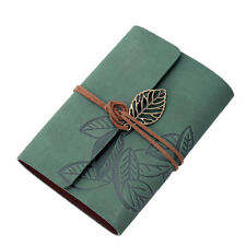 Fashion Unsex PU Leather Cover Loose Leaf Blank Travel Notebook Journal Diary