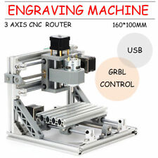 Mini 1610 3Axis CNC PCB Milling Machine Grabado en madera grabado CNC Router Kit
