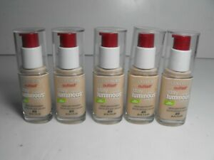 Lot Of 5 COVERGIRL Outlast Stay Luminous Glow Foundation 810 Classic Ivory