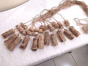 driftwood light pull, handmade