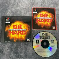 Die Hard Trilogy PS1 PlayStation 1 PAL Game Complete Original Rare Black Label