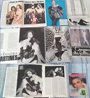 ALESSANDRA MARTINES dal 1986 al 1989_clippings_Collezione di articoli d'epoca