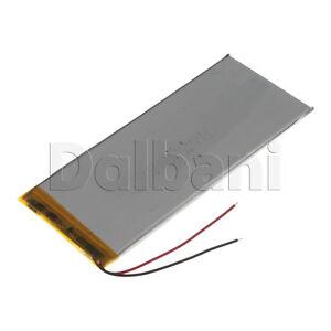 New 3.7V 3000mAh Internal Li-ion Polymer Built-in Battery 135x57x3mm 29-16-0904