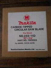 Vintage Makita 7922003 10in. 50T Carbide-Tipped Miter Saw Blade NEW OLD STOCK