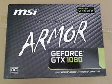MSI GeForce GTX 1080 ARMOR OC Graphics Card 8GB -PARTS(see description)