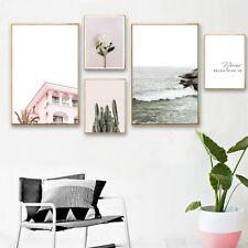 Cartel De Lona del paisaje pintura de pared nórdica impresión de arte decoración de sala de estar
