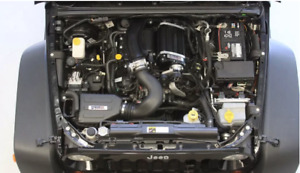 Supercharger Kit to suit Jeep Wrangler JK 3.6LT V6 Pentastar