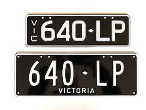 (Lamborghini Murcielgo) 640LP Number Plates, Victorian registration