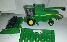 1/64 ERTL custom John deere 6620 titan 2 2wd combine farm toy