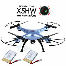 2 Batterie SYMA X5HW WIFI Live-On Übertragung FPV Kamera Quadrocopter RC Drohne