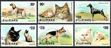 Philippines 1425-1430, CTO. Cats and Dogs, 1979