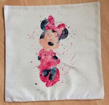 Disney Minnie Mouse Abstract Cushion Cover BN. 45x45cm. Xmas
