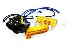 2x 9006 HB4 LED Light Xenon headlight No Error Load Resistor Wiring Harness Plug