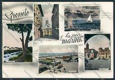 Grosseto Marina foto cartolina B2151 SZG