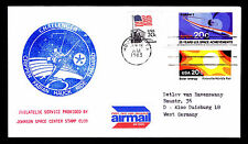 1983 STS-7 CHALLENGER - JOHNSON SPACE CENTER STAMP CLUB (ESP#2744)