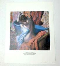 "1988 Edgar Degas ""Seated Bather Drying Herself"" Limited Edition Print 11x14"