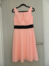 Laura Ashley Cotton Fit & Flare Day Dress Size 10