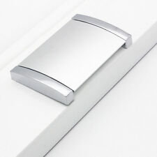 Invisible Metal Flat Handle Kitchen Cabinet Pull Handle Door Drawer Knob 38*46mm