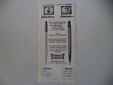 advertising Pubblicità 1969 PENNE UNIVERSAL CORVINA/CALCULADOR