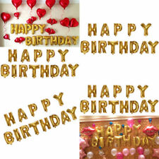 Letters Birthday, Child Party Foil Balloons