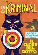 KRIMINAL N. 293 DELL'11.02.1971