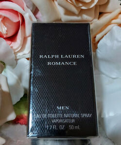 ❤️RALPH LAUREN ROMANCE MEN 1.7OZ 50ML.SEALED,VERY HARD TO FIND!!!