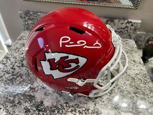 Patrick Mahomes Signed Kansas City Chiefs Full Size Replica Speed Helmet- W COA