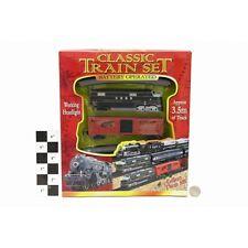 Classic 3.5m giocattolo trenino PISTA A BATTERIA carrozze LIGHT TANK ty308