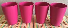 Tupperware  Open House Floersta Tumblers 18 oz Pink New
