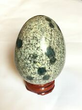 K2 Stone With Azurite  Egg Polished  (197gm)