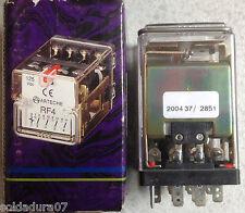 Rele Auxiliar ELECTROMECANICA ARCHETE HERMANOS Munguia RF4 125 v. cc. 50/60Hz