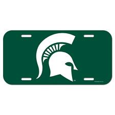 Michigan State Spartans License Plate