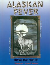 Alaskan Fever Stained Glass Pattern Book, Wolf, Moose, Bear, Caribou, Eagle, etc