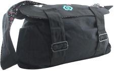 Etnies Bern Black Messenger Cross Body Bag Backpack Brand New