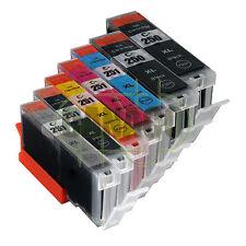 7* PACK PGI-250XL CLI-251XL Ink Cartridges for Canon Pixma MG7520 MG6620 MG5620