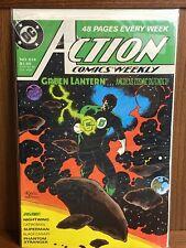 Dc Comics Action Comics #614 (1988) Green Lantern Cover By Mike Mignola