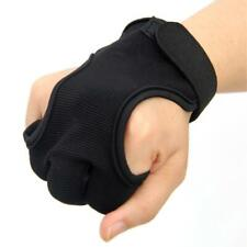 3 Finger Gloves Knitted Leather Elastic Fiber Hand Protection Protective Gloves