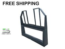 Es Walk Thru Fork Frame Only Us Made Qa Attachment Skid Steer Free Shipping