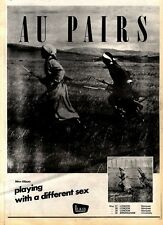 30/5/81PGN18 ADVERT: AU PAIRS NEW ALBUM PLAYING WITH A DIFFERENT SEX 15X11