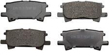 Disc Brake Pad Set-ProSolution Ceramic Brake Pads Rear Monroe GX996