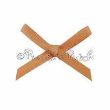 3mm Satin Ribbon Mini Bows 30pk 50pk or 100pk 24 Colours - Free UK Post